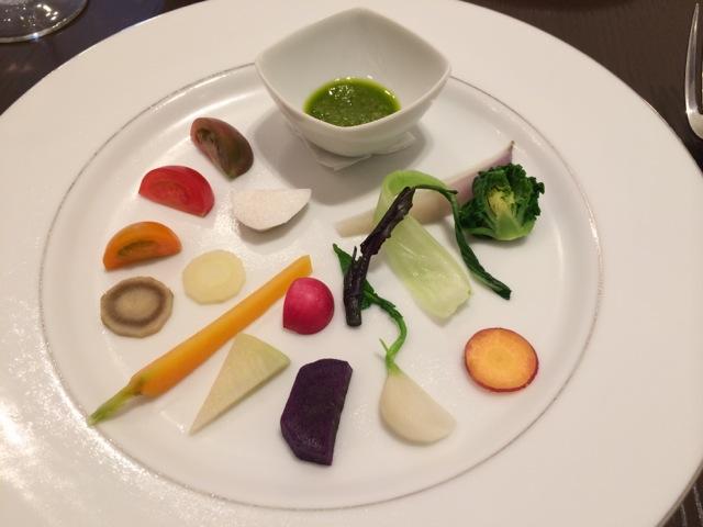 藤沢野菜のサラダ