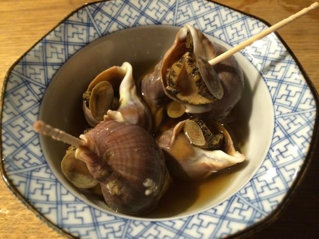 ツブ貝の旨煮