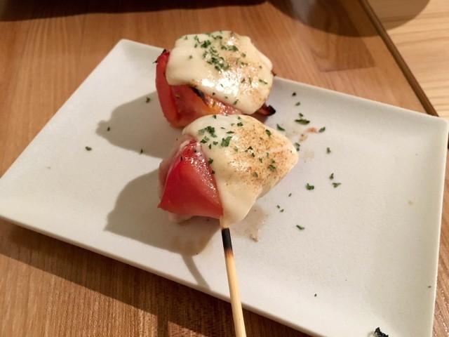 トマト巻きチーズ