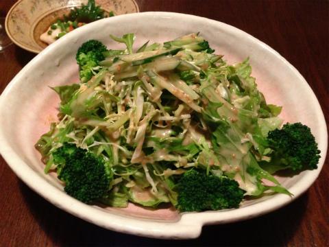 ちゃぶや_ちゃぶやのグリーンサラダ