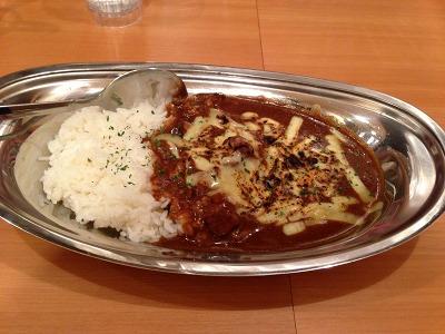 新丸子シロクマカレー_焼きチーズカレー(ポーク)