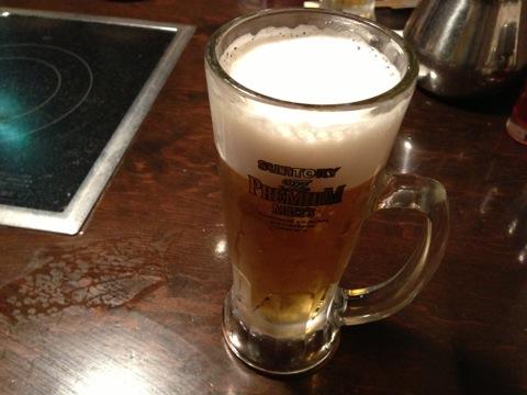 しゃぶしゃぶ温野菜_生ビール